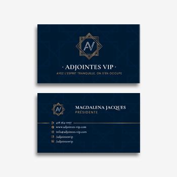 Cartes d'affaires - Stratèges VIP